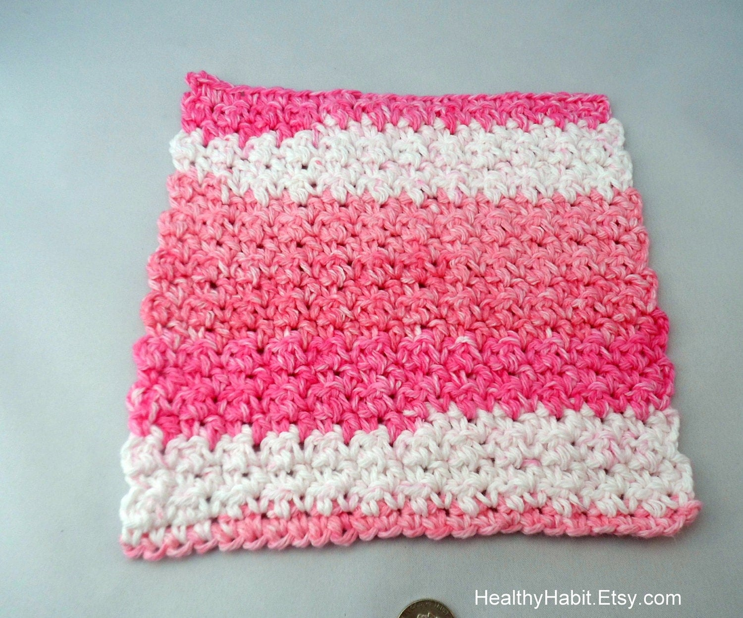 Crochet Patterns Etsy : Dishcloth Scrubbie Crochet PATTERN on Etsy - Microsoft Word Washcloth ...
