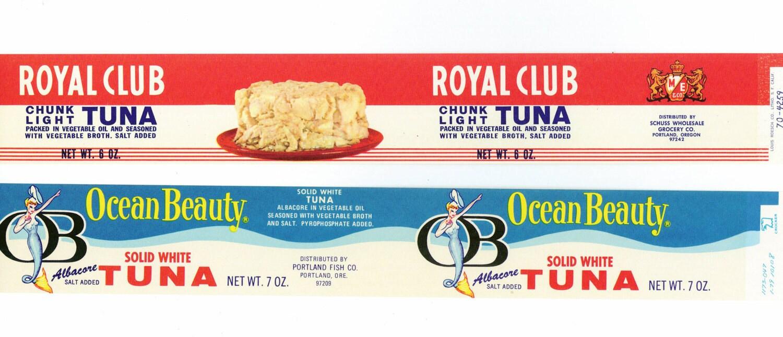 Tuna fish can label - photo#14