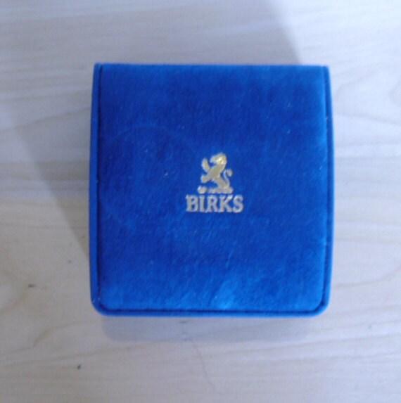 Birks london vintage box