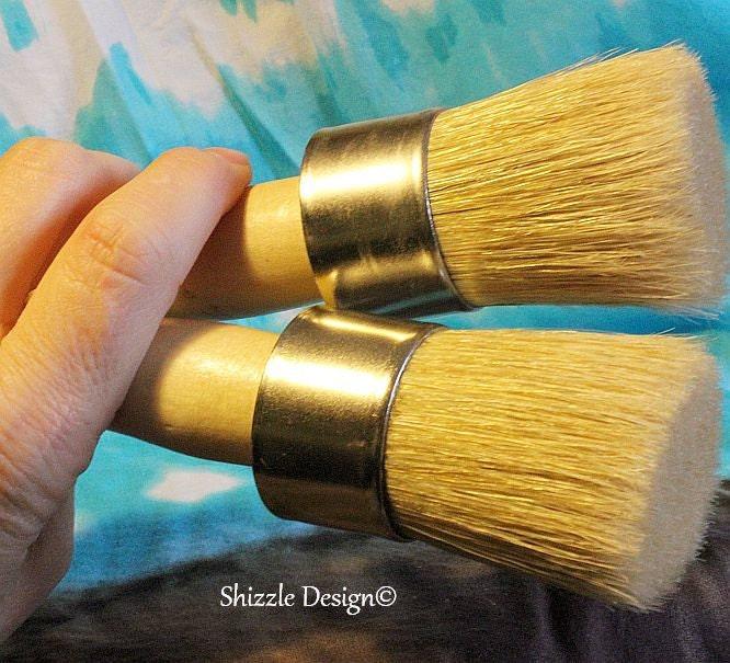 Medium Round Wax brush - ShizzleDesign