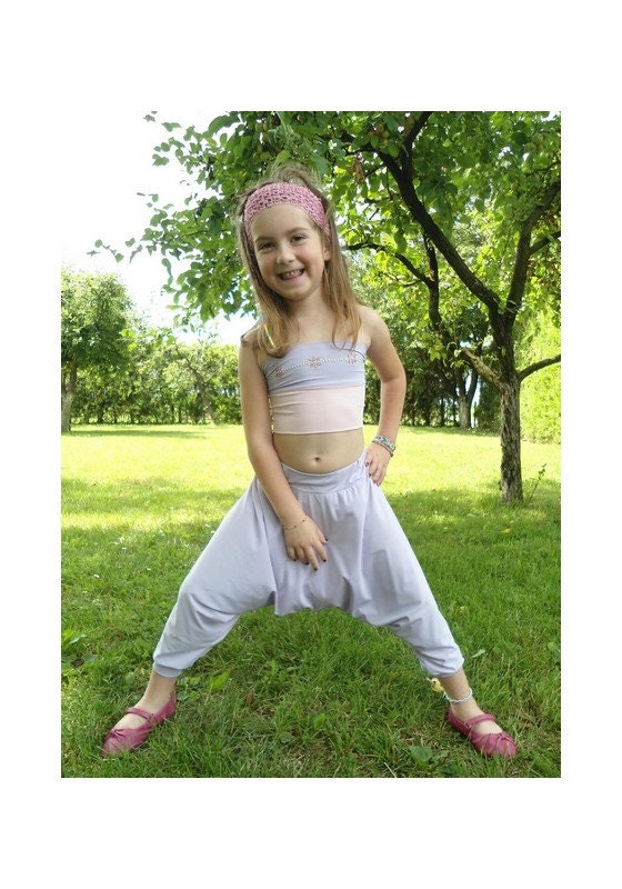 Abigail Baggy Pants Girl S Easy Sewing Pdf By Funsewinglab