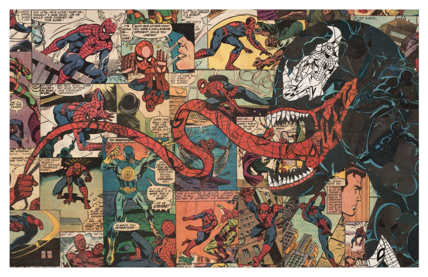 Comic Book Cover Collage : Comic books archives diabolical rabbit