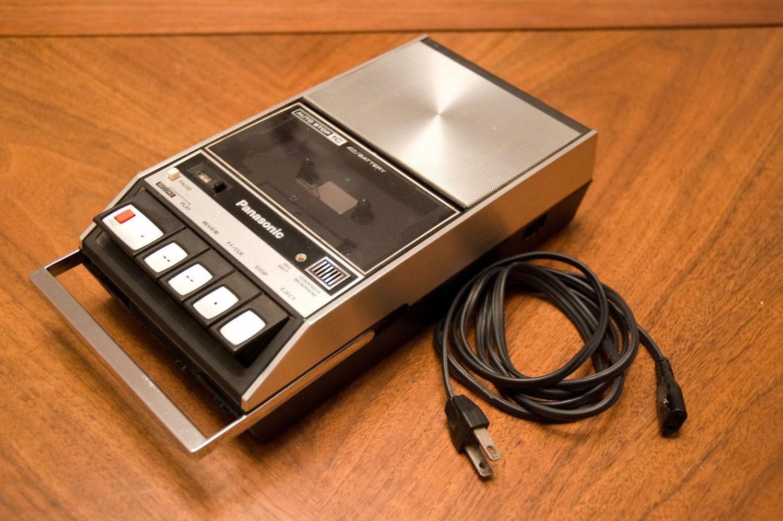 Vintage panasonic demo tape