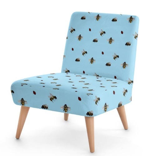 Designer Occasional Chair Nature print Custommade furniture Designer Upholstery bedroom chair hall vintage design contemporary chair