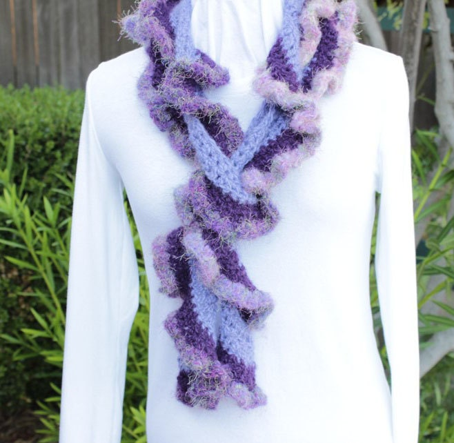 Free Crochet Pattern For A Spiral Scarf : Crochet Pattern Rotini Spiral Crochet Scarf by ...