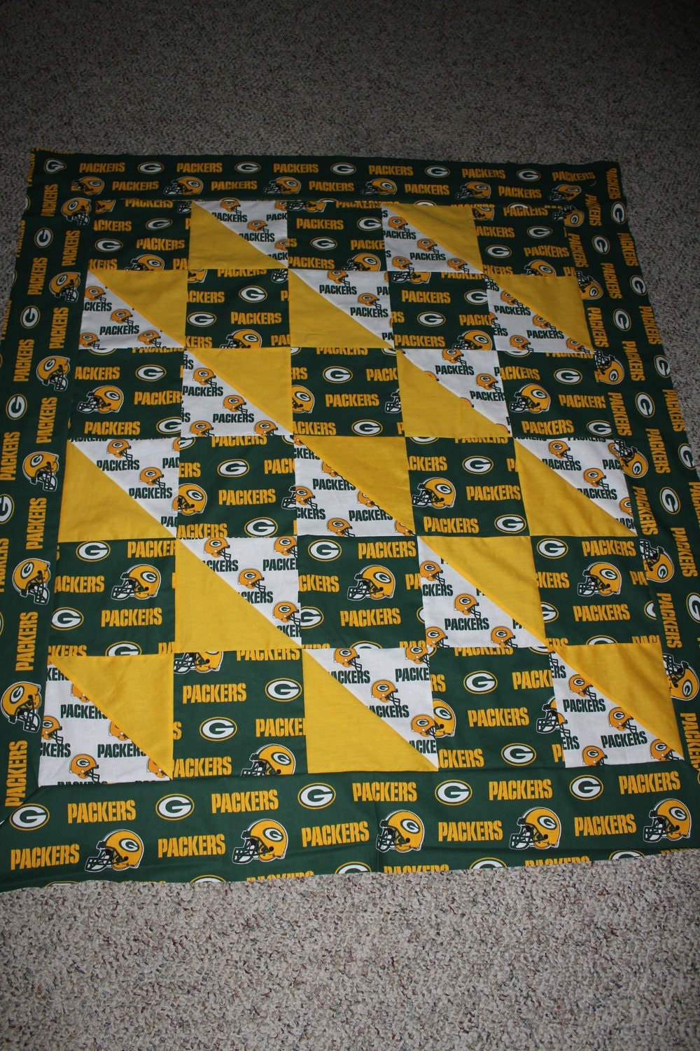 Sports Team Quilts Any Size, Any Team, Custom made for you - Crib listing