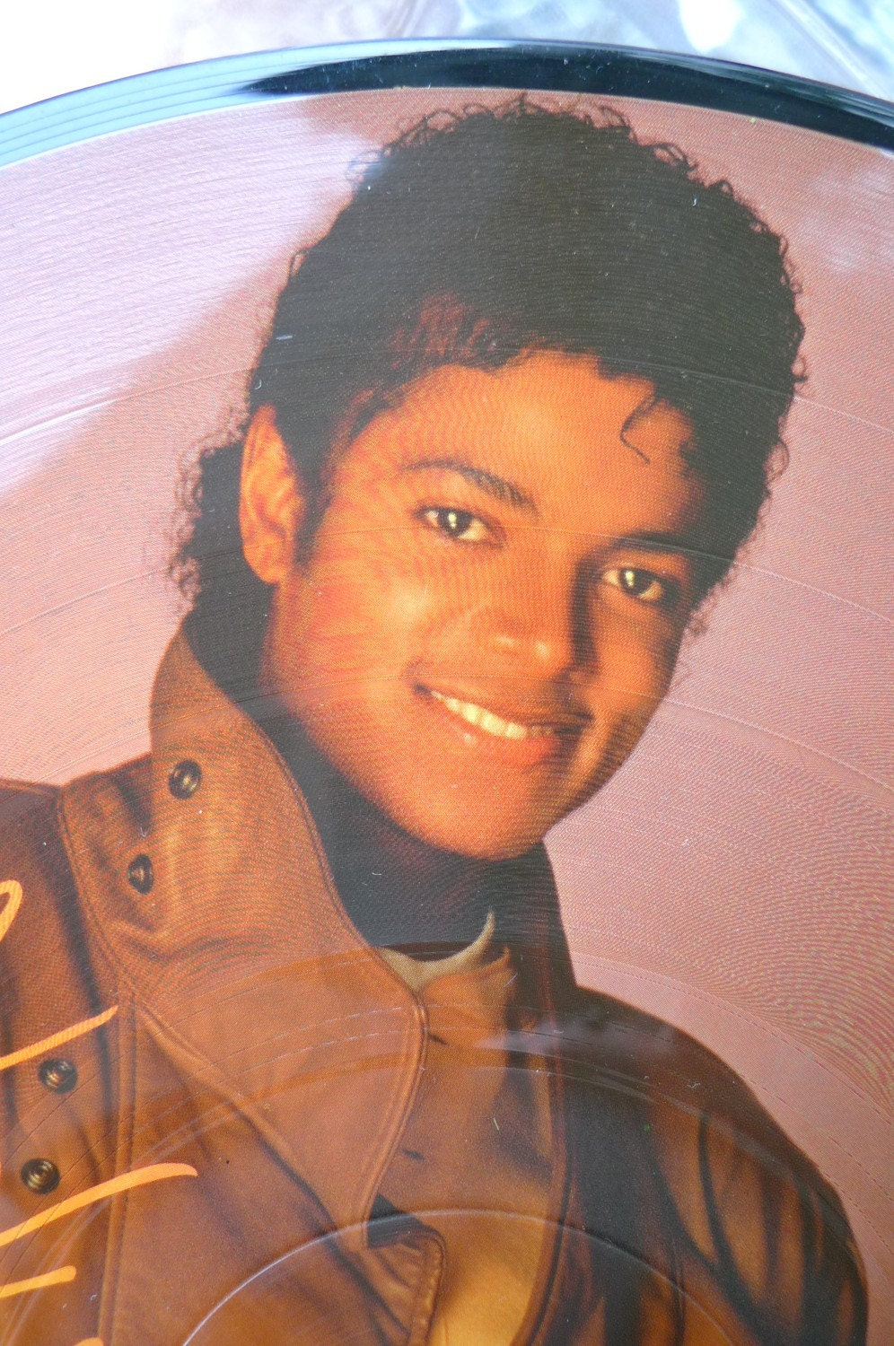Items Similar To Michael Jackson Thriller Picture Disc