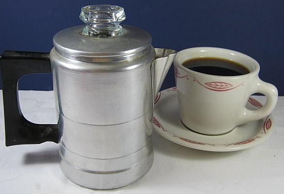 Java Perk Coffee Maker : Vintage COMET mini COFFEE PERK Aluminum by LavenderGardenCottag