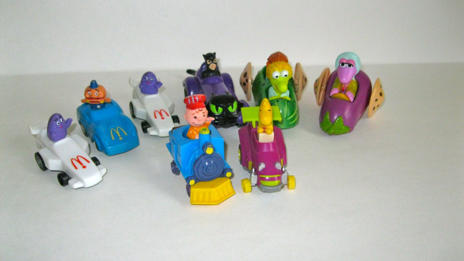 Items similar to Lot of McDonalds toys vintage 80s 90s on Etsy