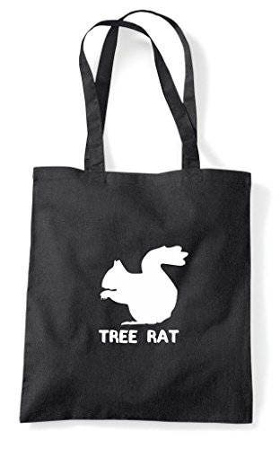 Alternative Animal Names Tree Rat Squirrel Cute Funny Animal Themed Tote Bag Shopper