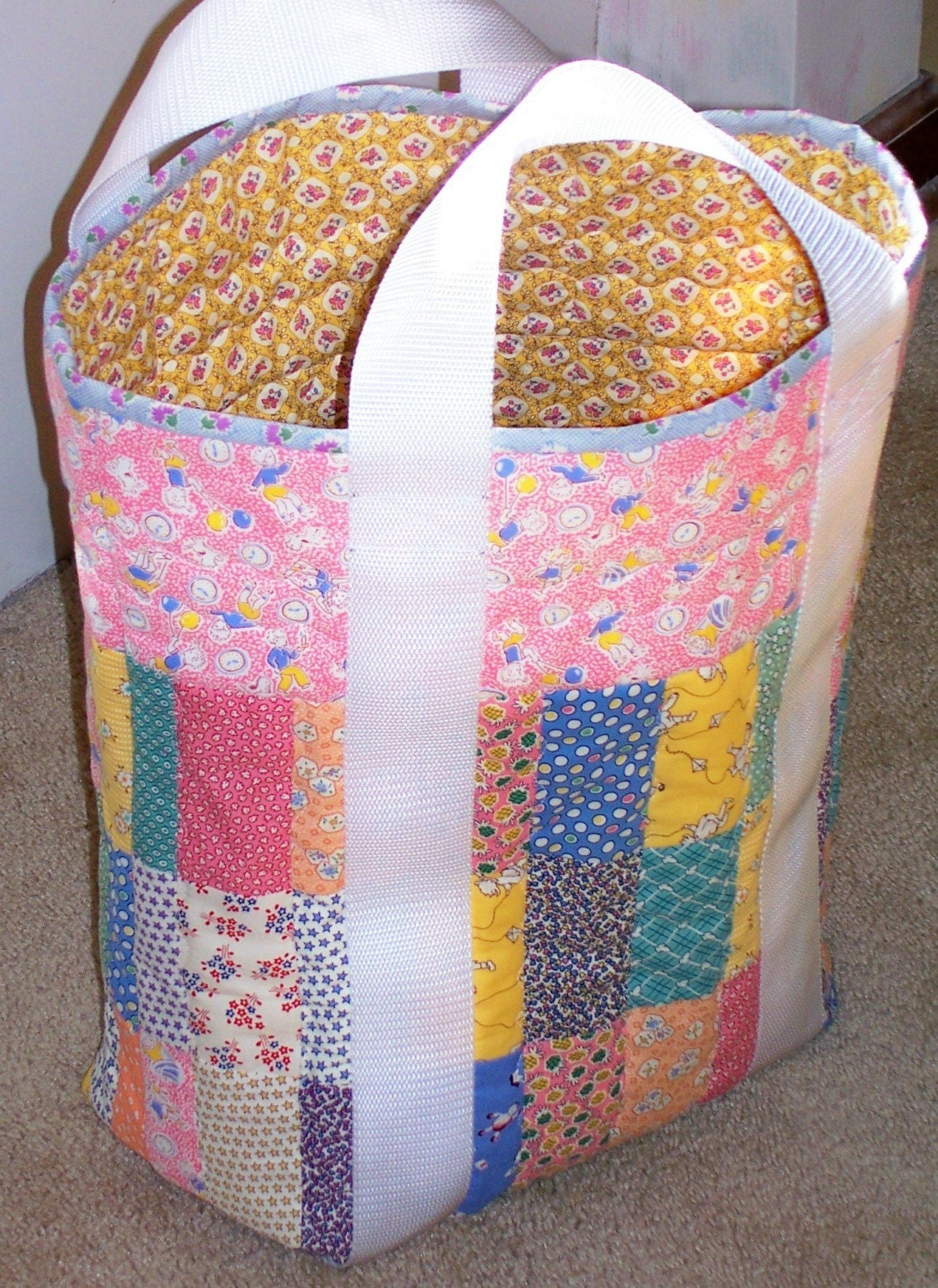 Quilted Knitting Bag Pattern Free : Unavailable Listing on Etsy