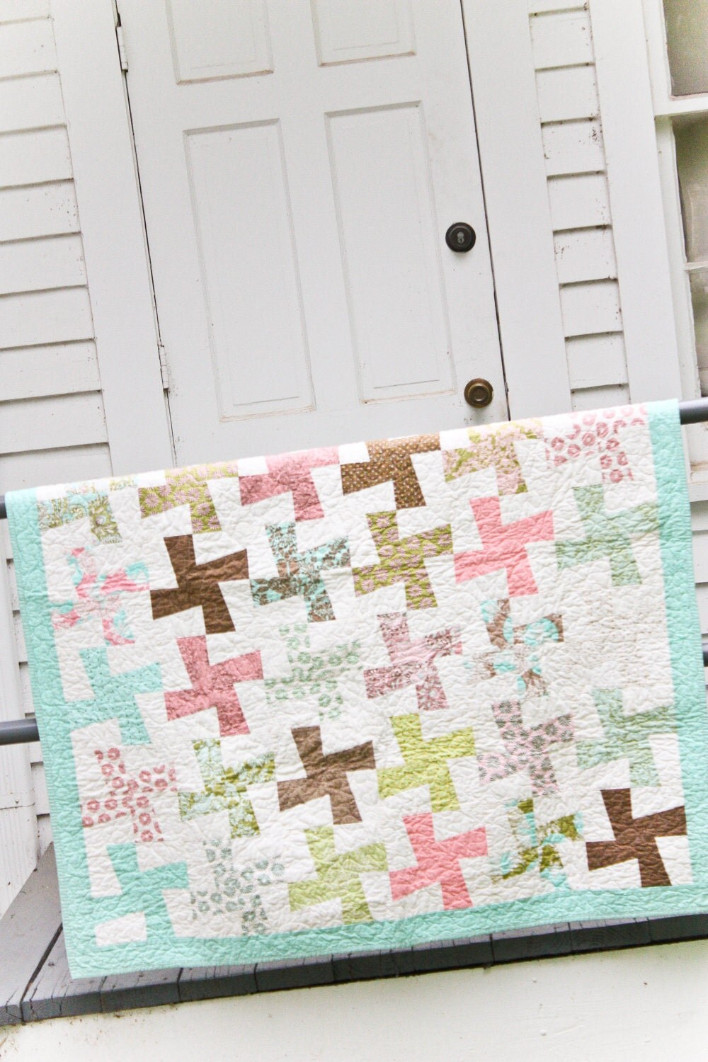 Hushabye Wild Thing Quilt - PaperBoxQuiltCo