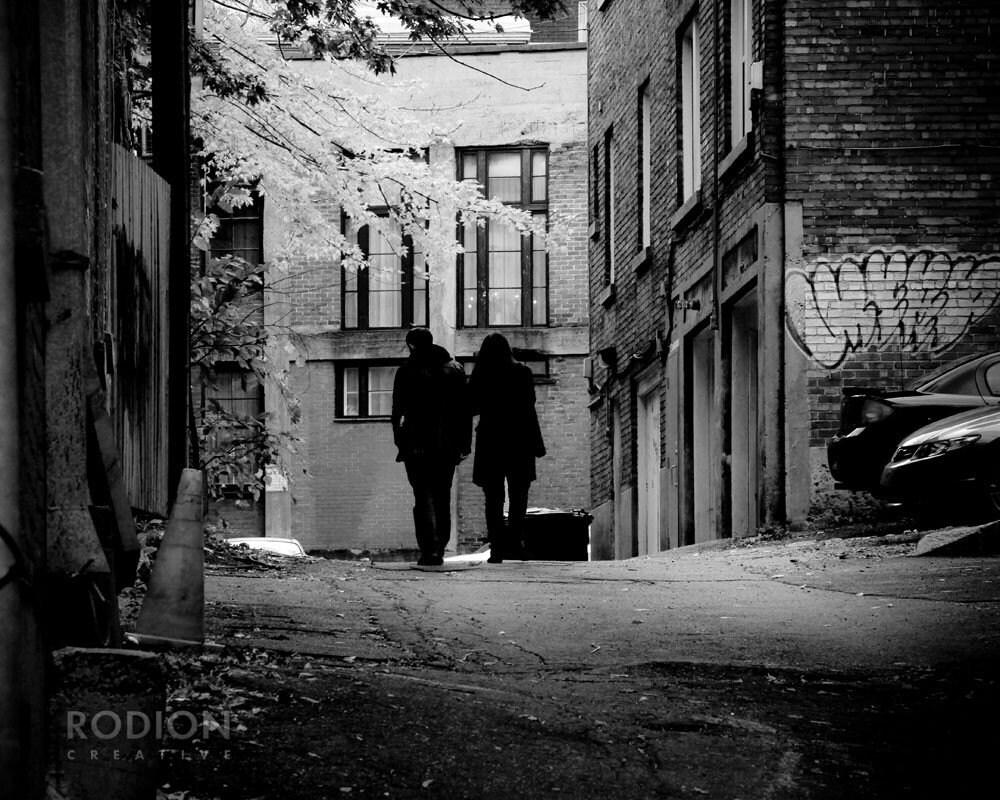 Autumn in Montréal Fine Art Photograph Print / 8x10