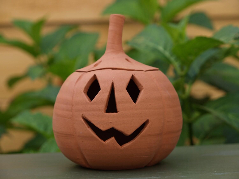 Ceramic Pumpkin  small  handmade ceramic pumpkin as seen in Modern Gardens magazine October 2016 issue Halloween