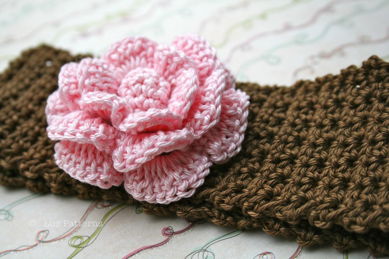 Crochet Pattern Central Baby Headbands : Crochet Baby Headband Pattern - Pattern Collections