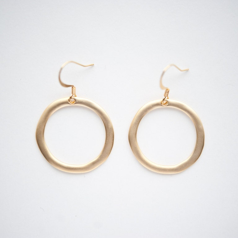 London, England Earrings in Gold - urbanitejewelry