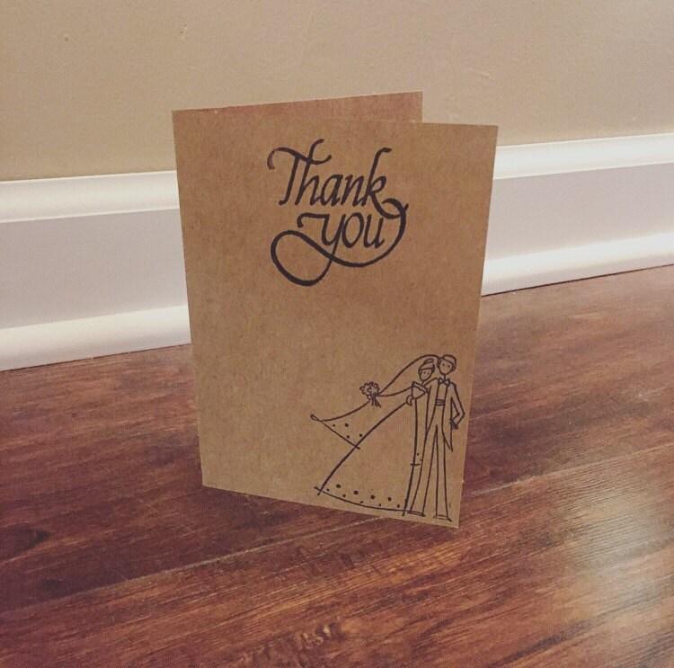 Wedding Thank You Cards Bulk Thank You Cards Wedding Thank