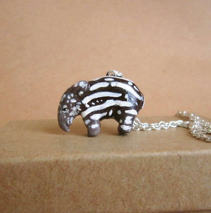 Baby Tapir Necklace - FlowerLandShop