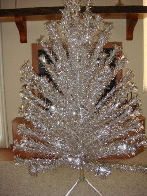Aluminum Christmas Tree Vintage Complete By Kleymannscloset