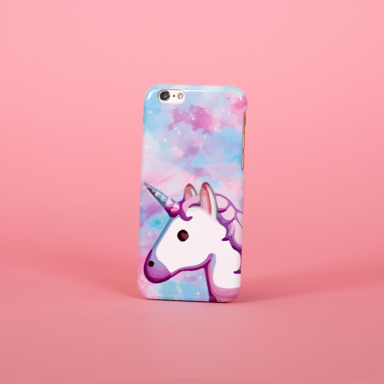Unicorn emoji space rainbow  iPhone 7 case samsung s7 case iphone 7 plus case iphone se case 1P004B