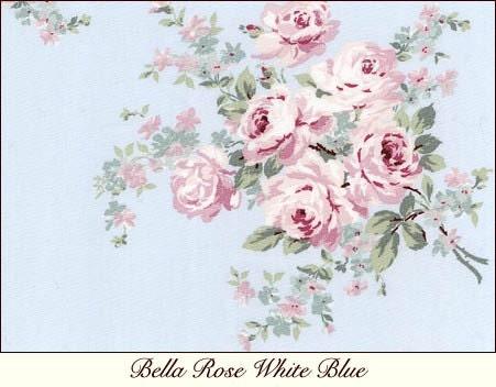 Items similar to rachel ashwell shabby chic bella rose for Tissu shabby chic