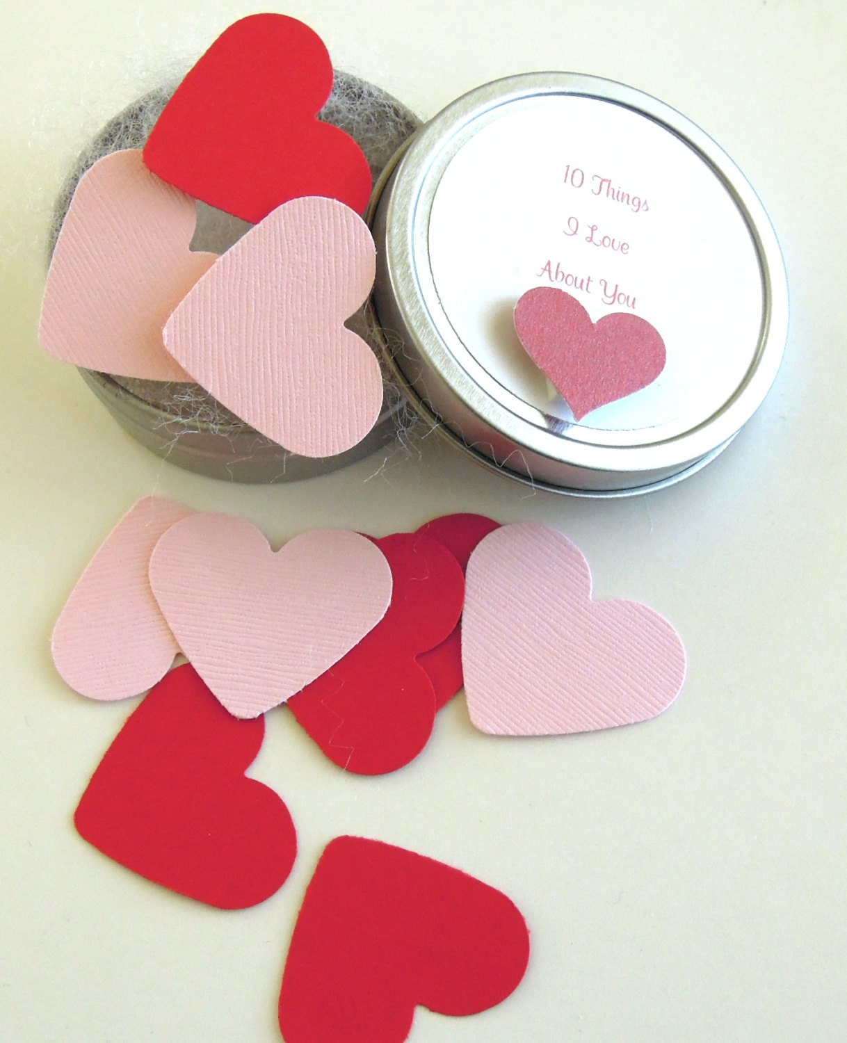 10 Things I Love About You Tin - Anniversary/Love/Valentine Gift - matdi123