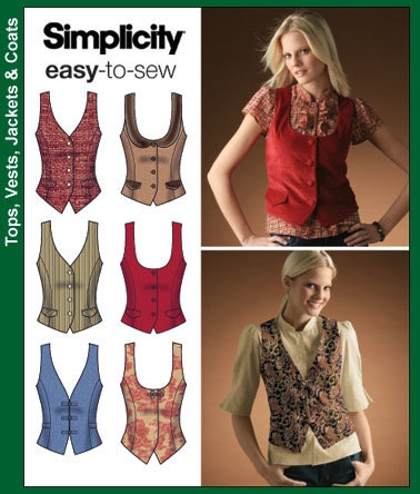 FAVORITE VEST SEWING PATTERN | My Sewing Patterns