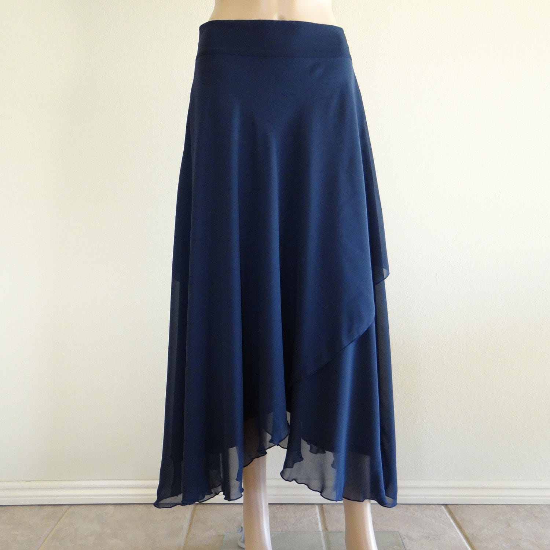 navy blue skirt maxi skirt evening by lynamobley2012