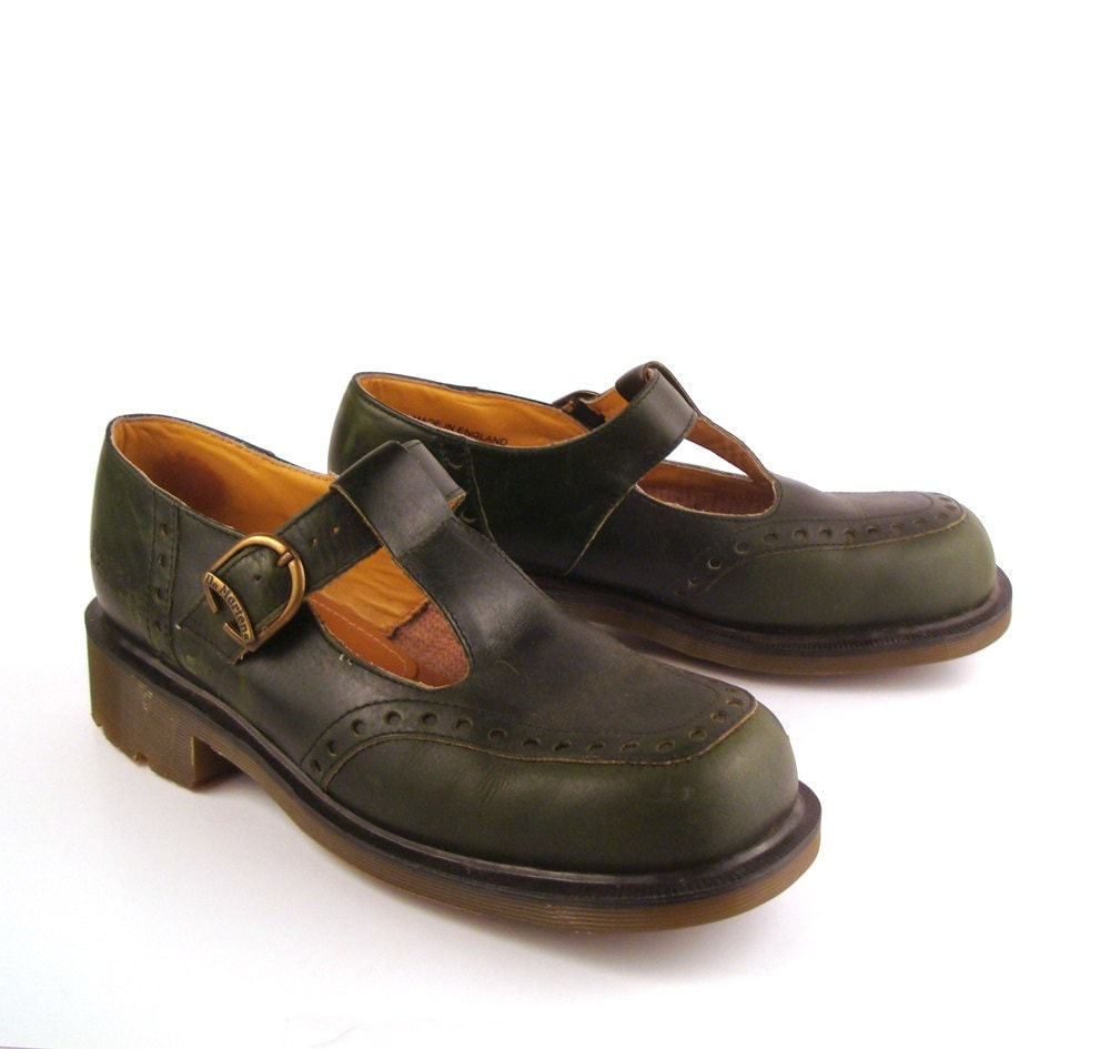 dr martens shoes mary janes 1990 doc rare by. Black Bedroom Furniture Sets. Home Design Ideas
