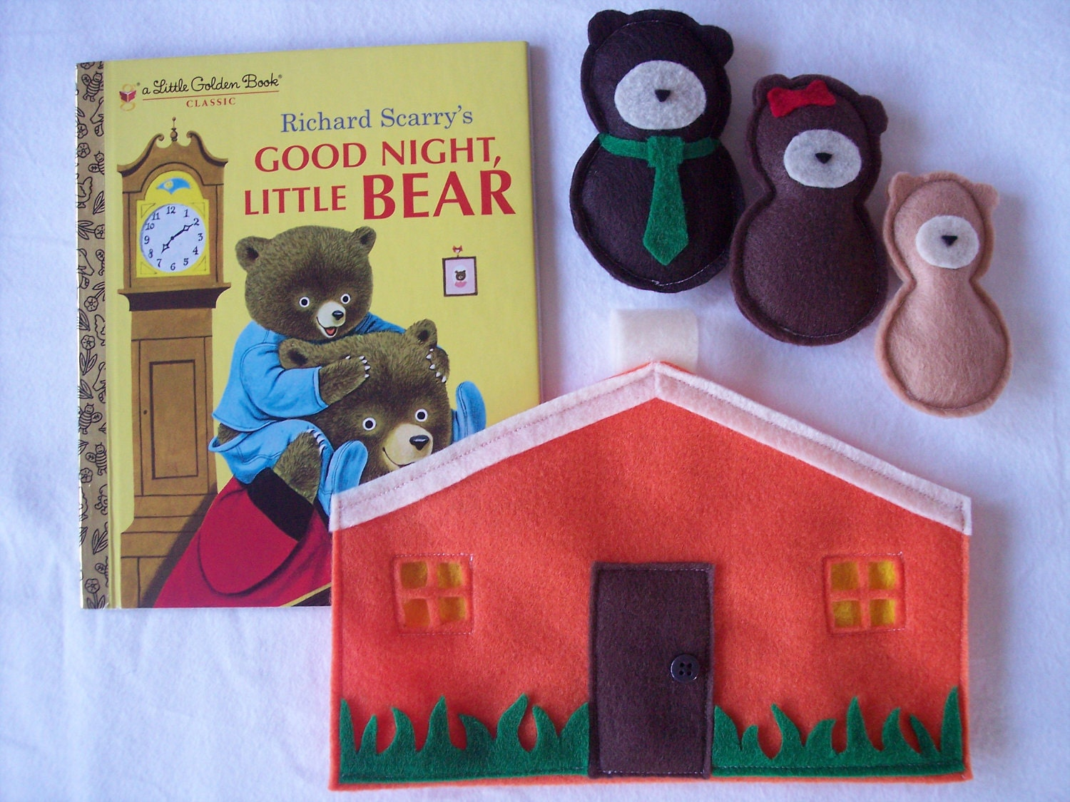 Quiet Activity Playhouse Sets with Plush Characters and Book (YOU PICK ONE) - lizzieboutique