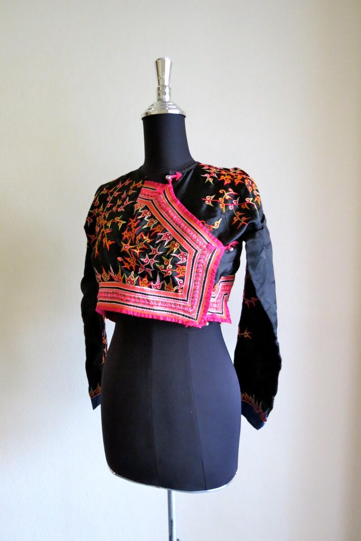 vintage clothing ethnic clothing hmong fabrics by