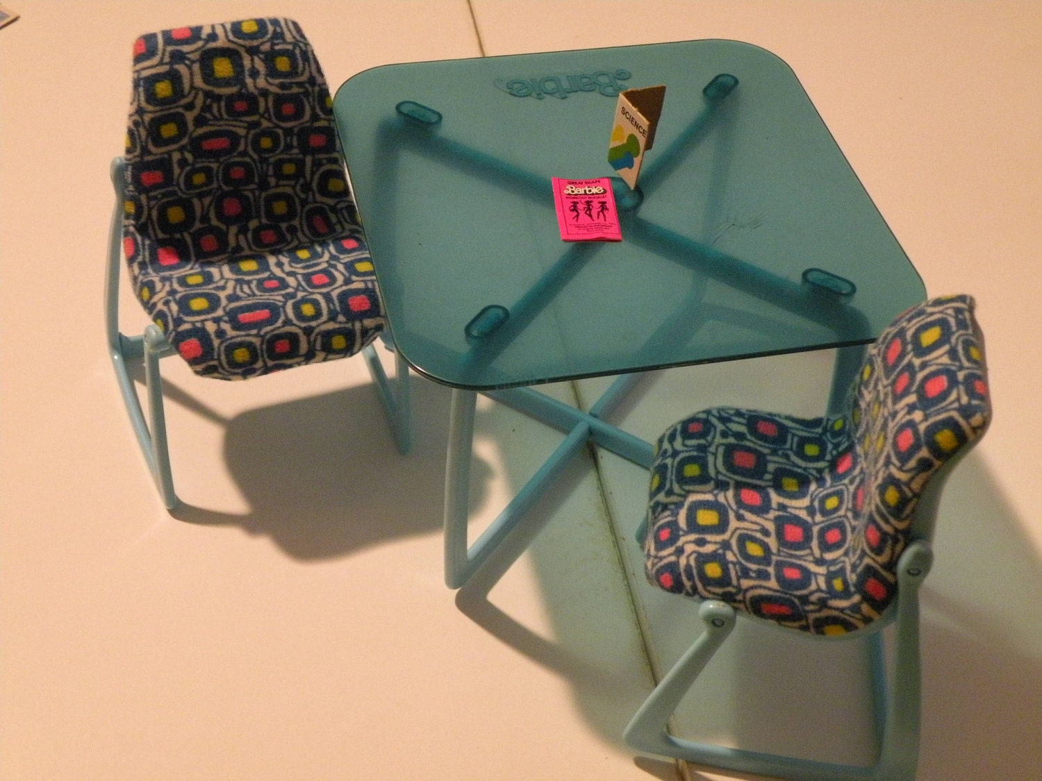 Barbie table and chairs from 80s dreamhouse sale by for 80s furniture for sale