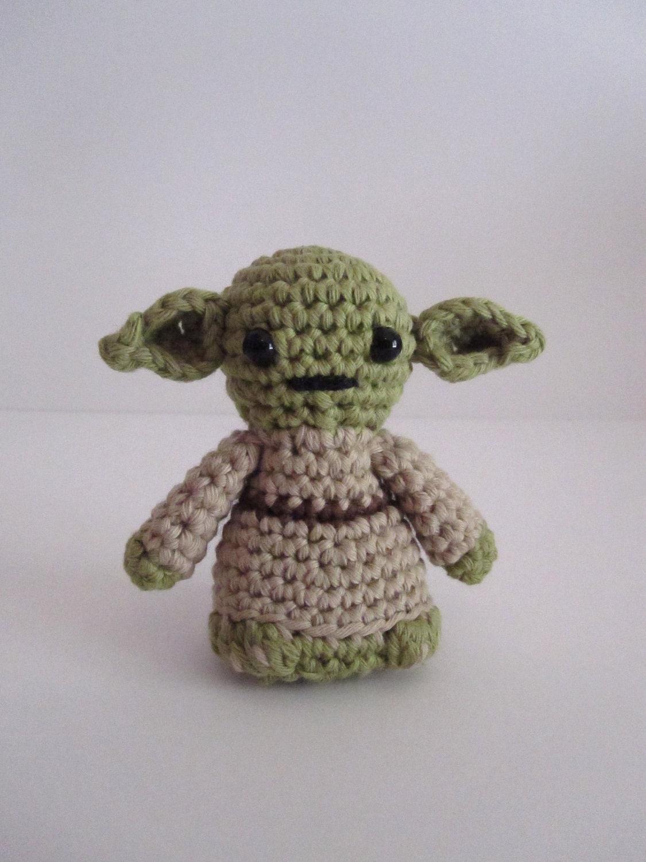 Yoda inspired amigurumi - HimawariLand