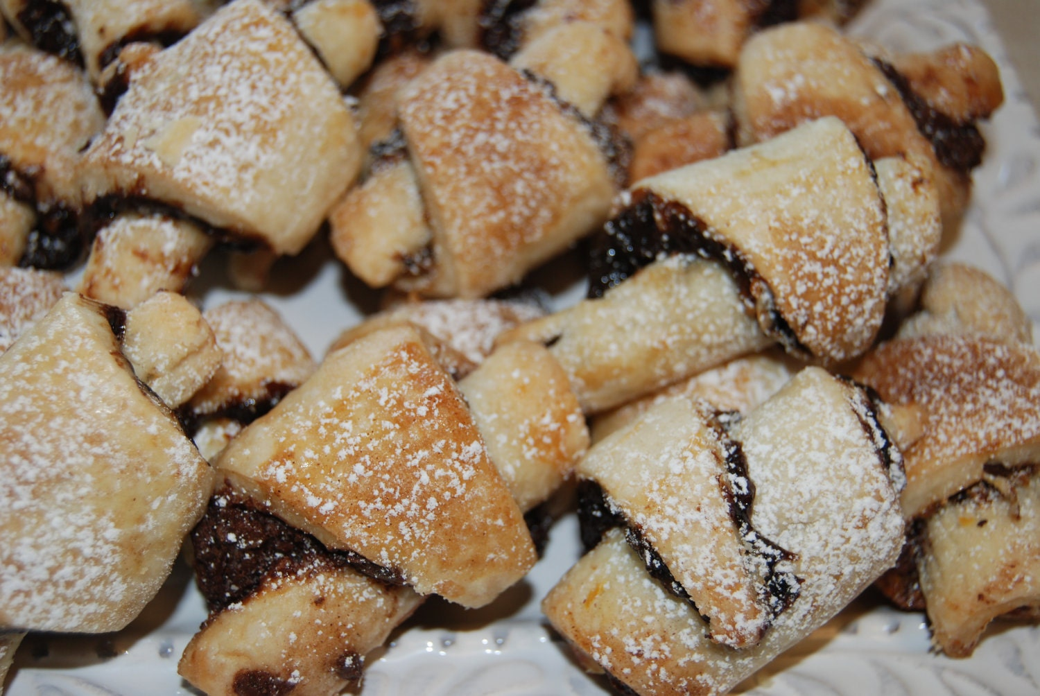 Rugelach Sampler Box Cookies Homemade 3 dozens by notjustcookies