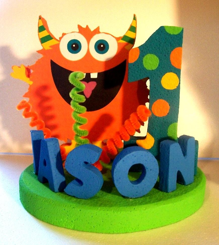 Monster Cake Site Etsy