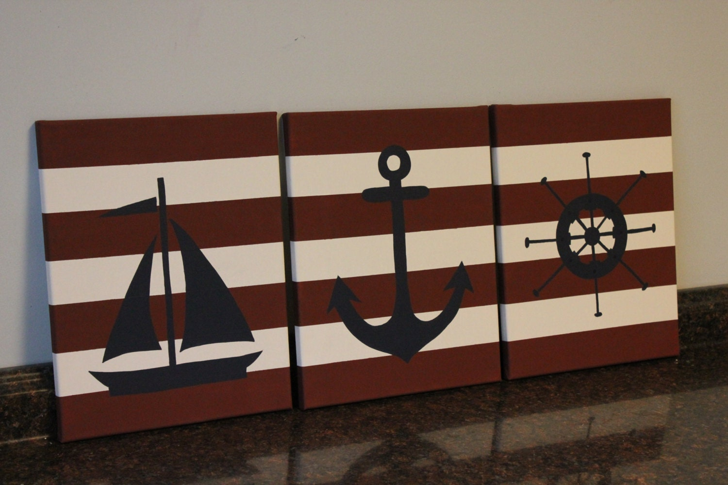 Popular items for nautical themed on etsy for Anchor decoration runescape