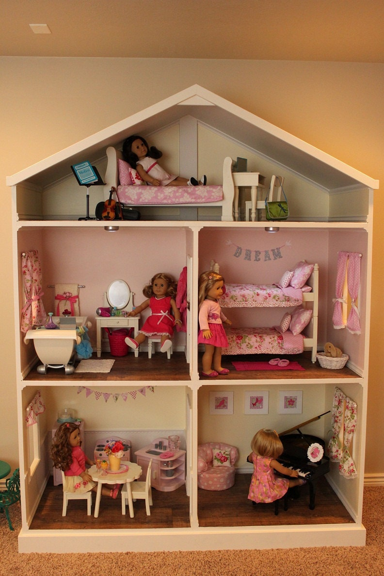 American Girl Doll or 18 inch doll House Plans