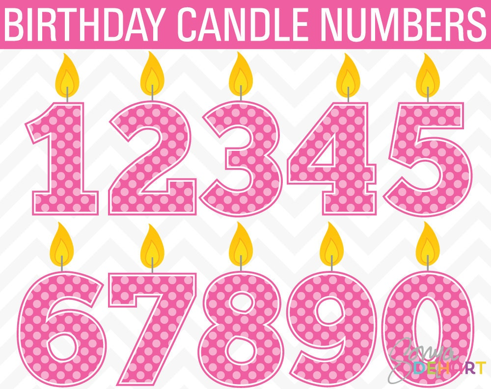 clipart birthday numbers - photo #2