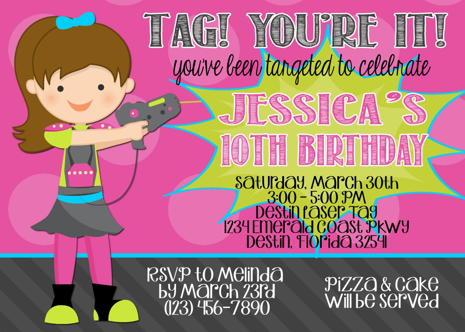 It's just a photo of Massif Laser Tag Birthday Invitations Free Printable