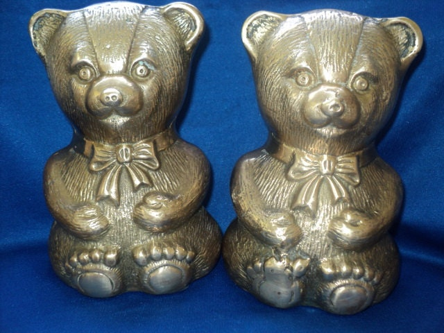 Brass baookends by decorative crafts inc by ginnysthriftstore for Decorative crafts inc brass