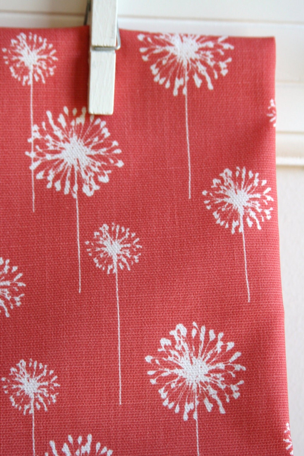 Coral Home Decor Weight Fabric From Premier Prints ONE FAT QUARTER