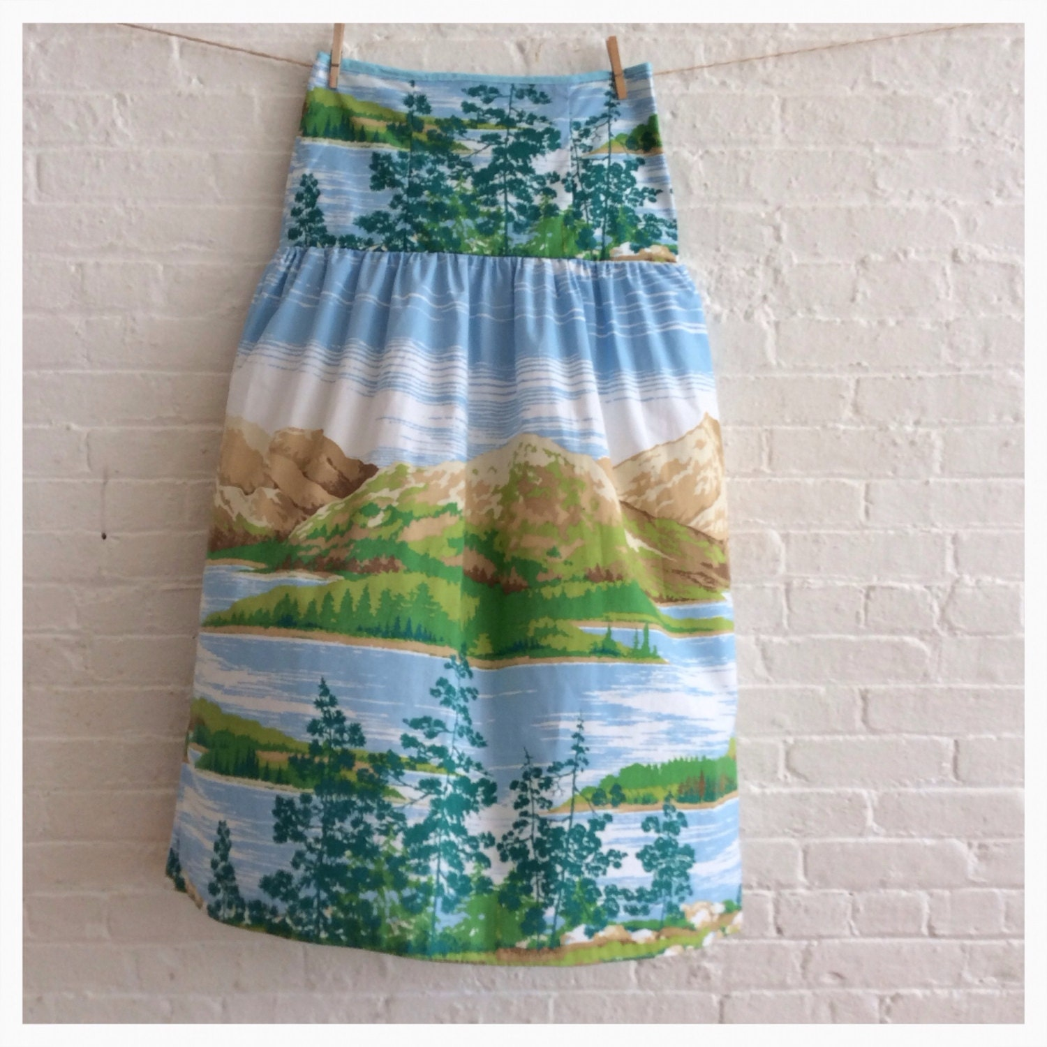 Country Landscape... Long Skirt