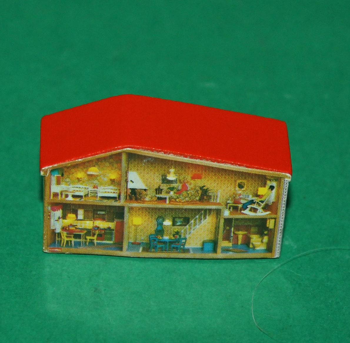 Vintage Lundby Dolls House Miniature House For The Dolls House Nursery