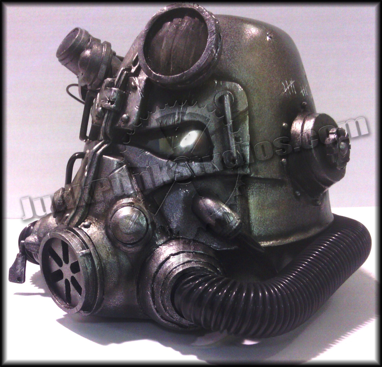how to make fallout 2 brotherhood helmet