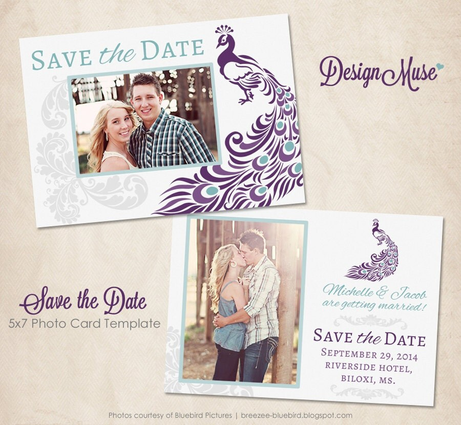 Unavailable listing on etsy for Save the date psd