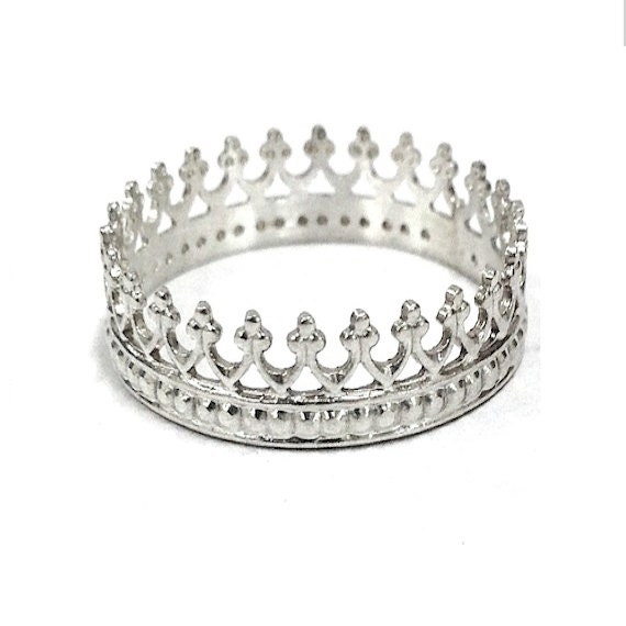 sterling crown ring princess ring gift best by