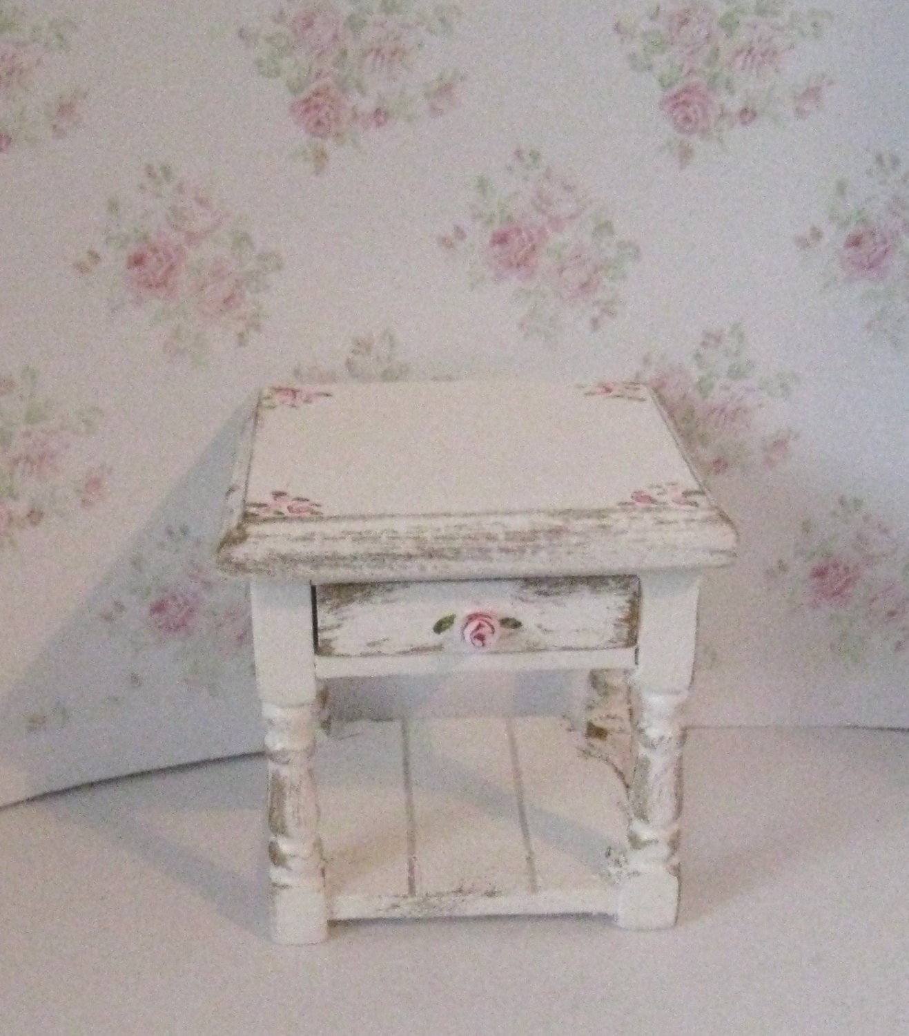 Miniature Bedside chest bedside small chest dollhouse bedside Twelfth scale dollhouse miniature