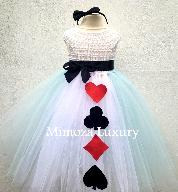 Alice in Wonderland Princess tutu dress Alice costume Alice outfit Alice in wonderland dress Fairy tale princess tutu dress tea party