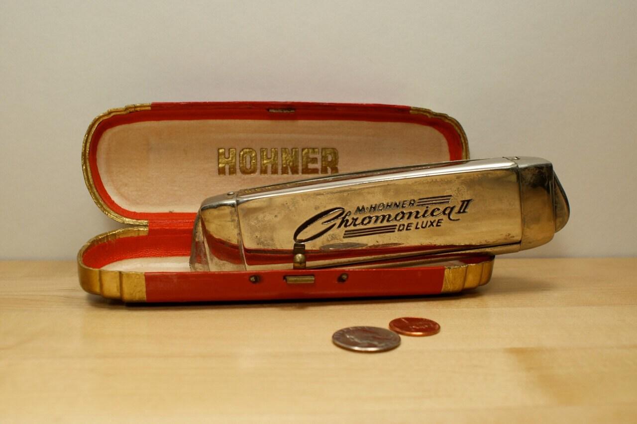 Vintage Hohner Harmonicas 85