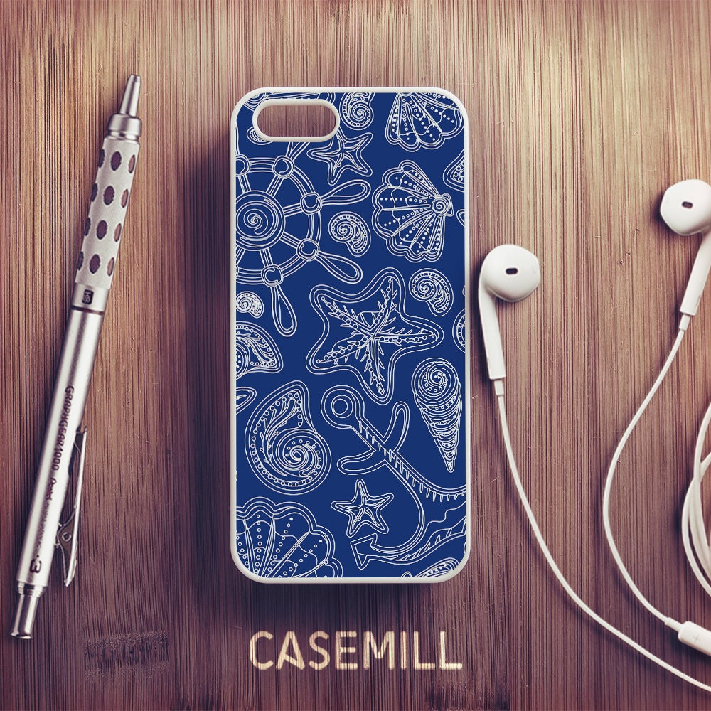 Sea Shell Pattern iPhone 6 Case iPhone 6s Case iPhone 6 Plus Case iPhone 6s Plus Case iPhone 5s Case iPhone 5 Case iPhone 5c Case